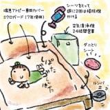 今、考えられる限りのアレルギー対策寝室です。