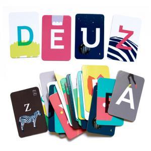 アルファベット フラッシュカード ABCDEUZ