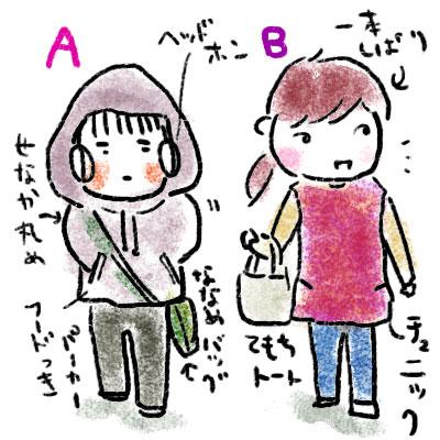 AとB、どちらがお母さんでしょうか。